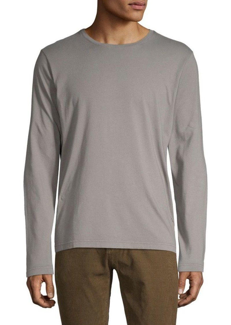 Brooks Brothers Red Fleece Long-Sleeve Crewneck Top