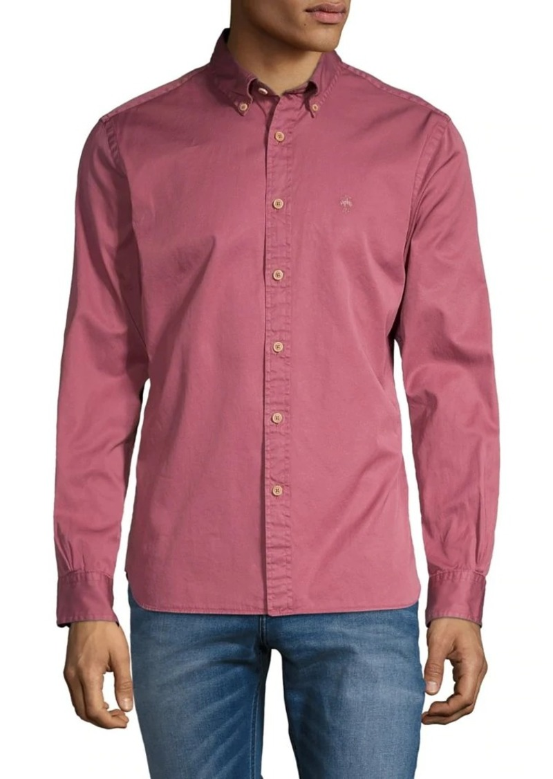 Brooks Brothers Red Fleece Long-Sleeve Sportshirt