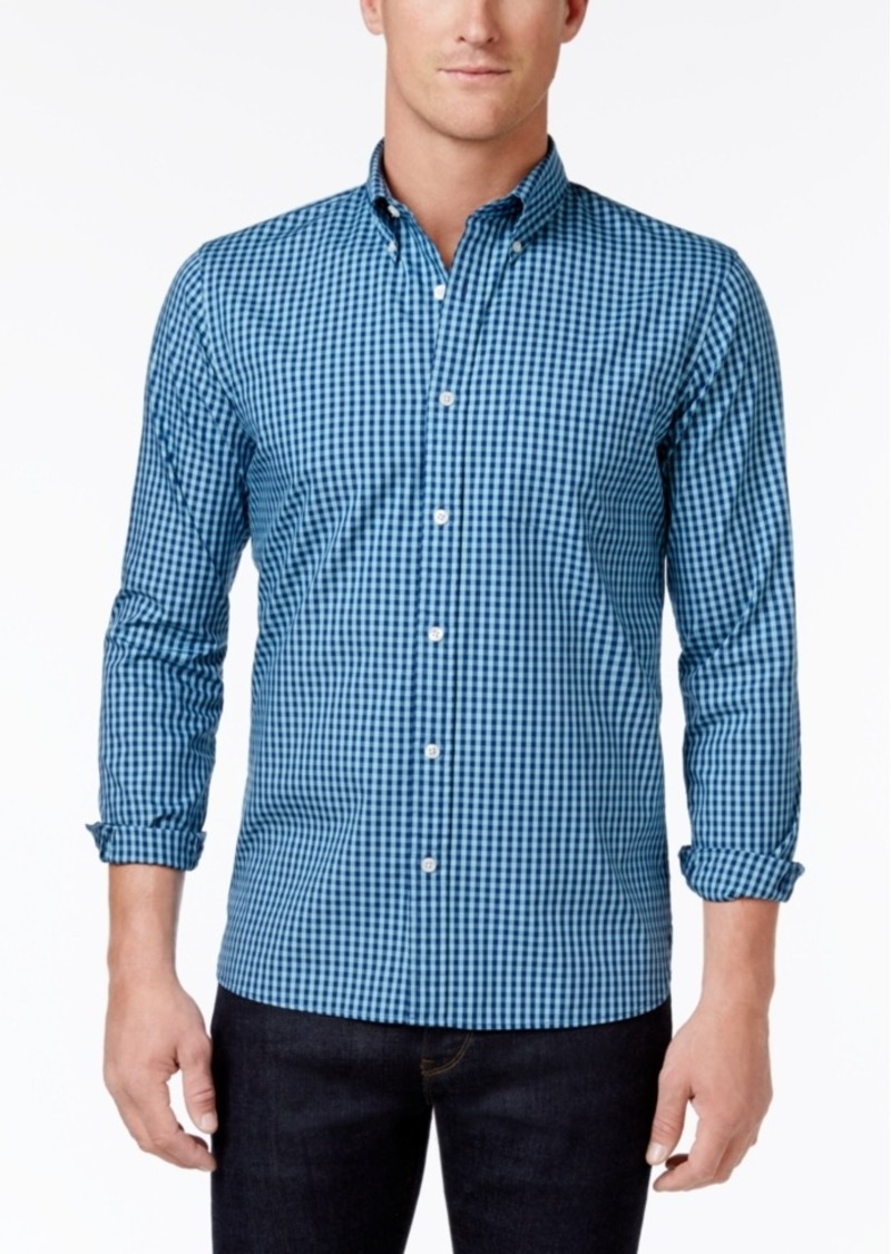 Brooks Brothers Brooks Brothers Red Fleece Men's Cotton Gingham ...