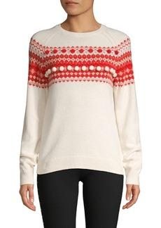 Brooks Brothers Red Fleece Merino-Blend Fairisle Sweater
