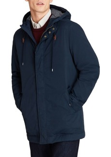 Brooks Brothers Red Fleece Out RF Jersey Lined Anorak