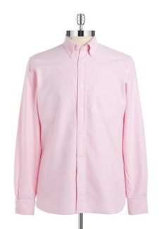 Brooks Brothers Red Fleece Oxford Cotton Button-Down Shirt