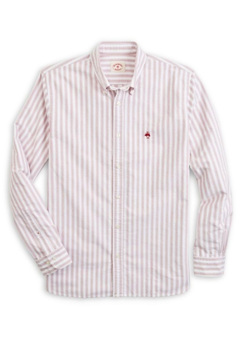 Brooks Brothers Red Fleece Oxford Sports Shirt