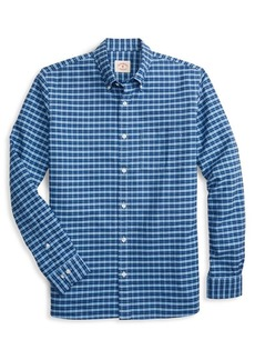 Brooks Brothers Red Fleece Oxford YarnDyes Check Button-Down Shirt