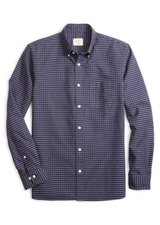 Brooks Brothers Red Fleece Oxford Yarndyes Grid Check Button-Down Shirt