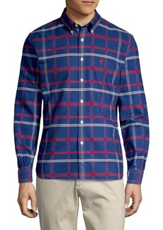 Brooks Brothers Red Fleece Plaid Button-Down Oxford Shirt