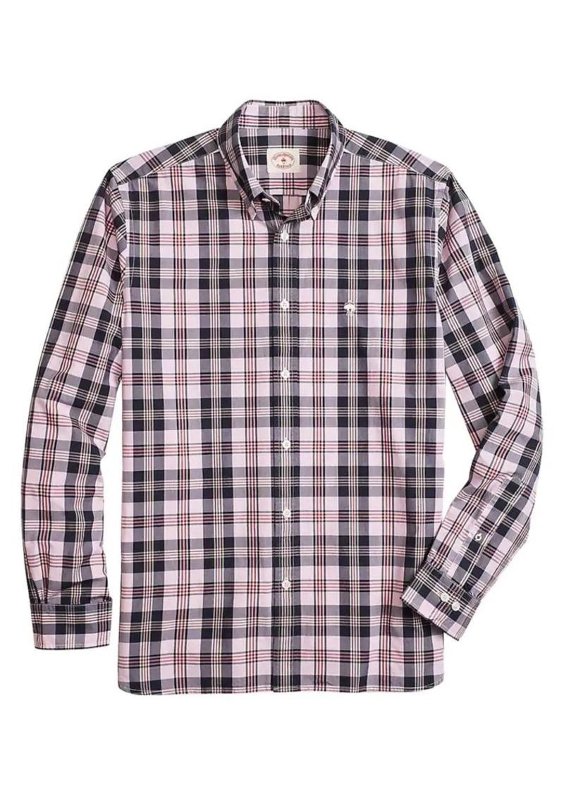Brooks Brothers Red Fleece Plaid Shirt