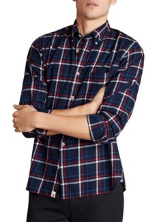 Brooks Brothers Red Fleece Plaid Button-Down Shirt