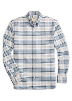 Brooks Brothers Red Fleece Plaid Cotton Oxford Shirt