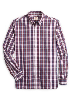 Brooks Brothers Red Fleece Plaid Oxford Sports Shirt