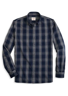 Brooks Brothers Red Fleece Plaid Twill Shirt