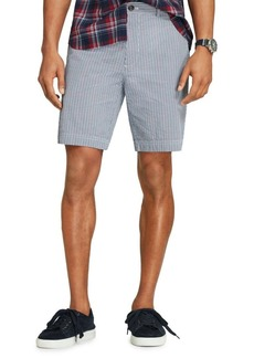 Brooks Brothers Red Fleece Printed Cotton Seersucker Shorts