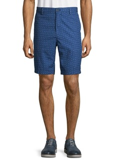 Brooks Brothers Red Fleece Printed Cotton Shorts