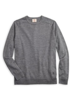 Brooks Brothers Red Fleece Raglan-Sleeve Merino Wool Sweater
