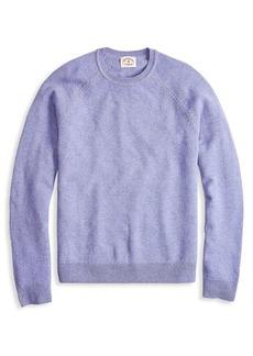 Brooks Brothers Red Fleece Raglan Wool Sweater