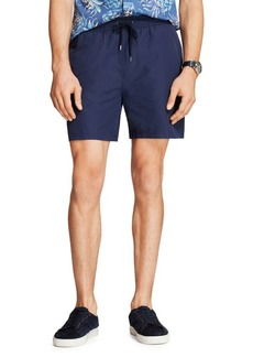 Brooks Brothers Red Fleece Seersucker Swim Trunks