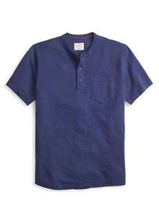 Brooks Brothers Red Fleece Short-Sleeve Slub Henley