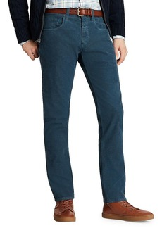 Brooks Brothers Red Fleece Slim-Fit Corduroy Pants