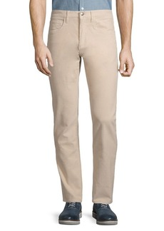 Brooks Brothers Red Fleece Slim Fit Garment-Dyed Five-Pocket Corduroy Pants