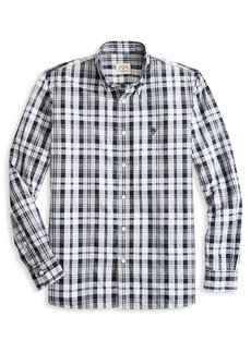 Brooks Brothers Red Fleece Slim-Fit Plaid Button-Down Shirt