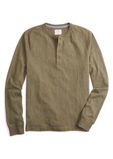 Brooks Brothers Red Fleece Slub Henley Shirt