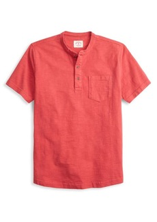 Brooks Brothers Red Fleece Slub Short-Sleeve Henley