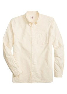 Brooks Brothers Red Fleece Solid Oxford Shirt