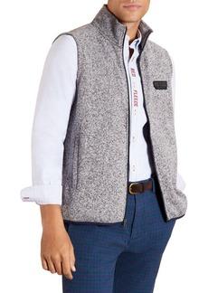 Brooks Brothers Red Fleece Stand-Collar Full-Zip Vest