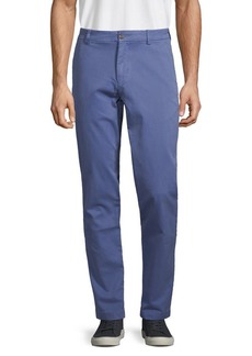 Brooks Brothers Red Fleece Stretch-Cotton Chino Pants