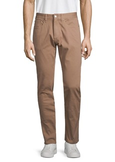 Brooks Brothers Red Fleece Stretch-Cotton Pants