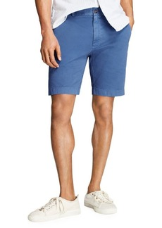 Brooks Brothers Red Fleece Stretch Twill Shorts