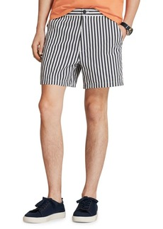 Brooks Brothers Red Fleece Stripe Shorts