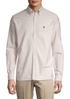 Brooks Brothers Red Fleece Striped Oxford Button-Down Shirt