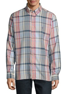 Brooks Brothers Red Fleece Twill Plaid Shirt