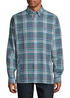 Brooks Brothers Red Fleece Twill Plaid Shirt