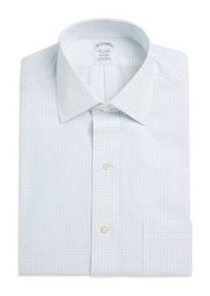 Brooks Brothers Regent Fit Non-Iron Grid Check Dress Shirt