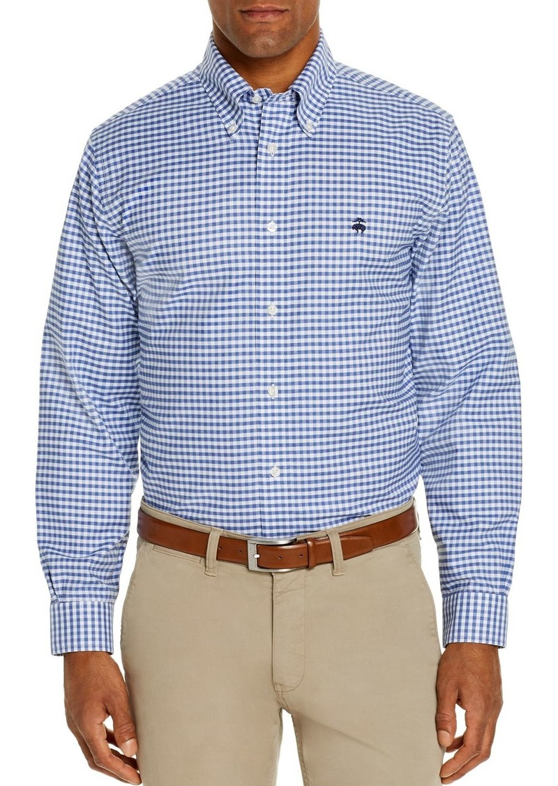 Brooks Brothers Regent Gingham Oxford Classic Fit Button-Down Shirt