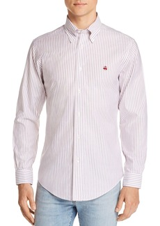 Brooks Brothers Regent Non-Iron Striped Slim Fit Button-Down Shirt