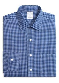 Brooks Brothers Regent Regular Fit Non-Iron Stretch Check Dress Shirt