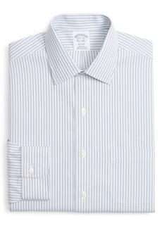 Brooks Brothers Regent Regular Fit Non-Iron Stripe Dress Shirt