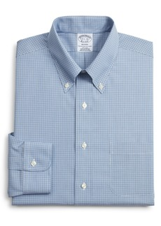 Brooks Brothers Regent Regular Fit Plaid Dress Shirt (3 for $207)