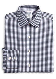 Brooks Brothers Regent Regular Fit Stretch Plaid Dress Shirt
