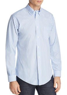 Brooks Brothers Regent Striped Slim Fit Button-Down Shirt