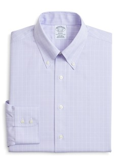 Brooks Brothers Regular Fit Check Dress Shirt (3 for $207)