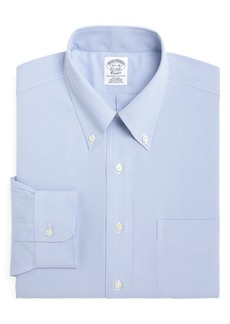 Brooks Brothers Regent Regular Fit Houndstooth Dress Shirt (3 for $207)