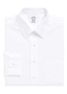 Brooks Brothers Regular Fit Solid Dress Shirt