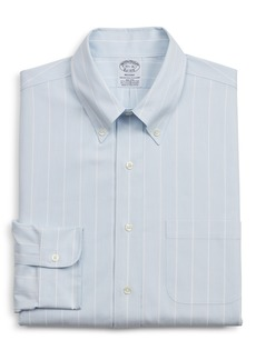 Brooks Brothers Regent Regular Fit Stripe Dress Shirt
