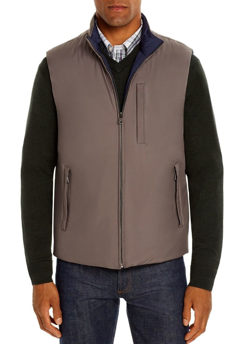 Brooks Brothers Reversible Down Puffer Vest