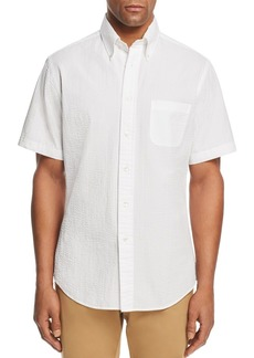 Brooks Brothers Seersucker Classic Fit Button-Down Shirt