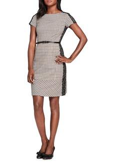 Brooks Brothers Short-Sleeve Stretch A-Line Dress